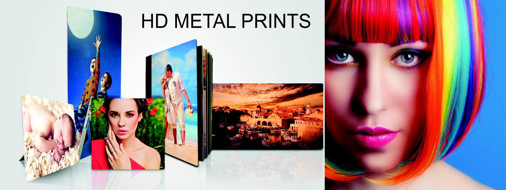 ChromaLuxe HD Metal Photo Panels