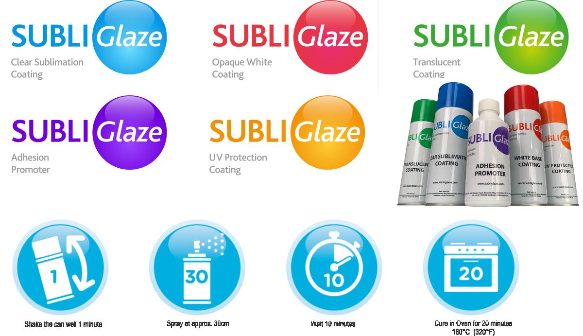 Subli Glaze Coatings